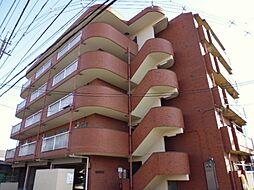 東京都羽村市五ノ神2丁目の賃貸マンションの外観