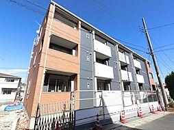 千葉県佐倉市山崎の賃貸アパートの外観