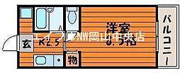 サンライト津島I号館[2階]の間取り