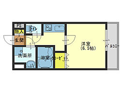 Osaka Metro千日前線 北巽駅 徒歩5分の賃貸マンション 8階1Kの間取り