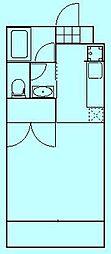 ホープ・ディーワイ[1階]の間取り