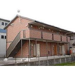 福岡県久留米市山川安居野3丁目の賃貸アパートの外観