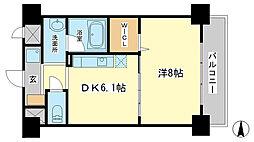 アモーレ二階町[3階]の間取り