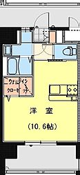 California APT ~カリフォルニア アパートメント~ 9階ワンルームの間取り