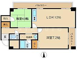 メゾンドノブレ[3階]の間取り
