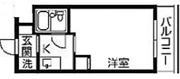ウインベルソロ本厚木3[0404号室]の間取り