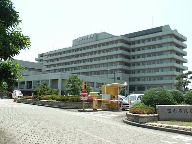 【総合病院】富山市民病院まで1802m