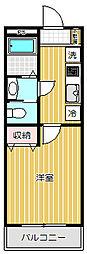 リリックコートWisteria[2階]の間取り