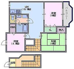 ソレイユ二階堂C棟[2階]の間取り