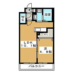 Ritz GRANDE N19[2階]の間取り