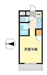 キャスティルIII[2階]の間取り
