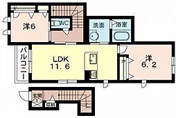 (仮称)シャーメゾン西今川3丁目計画[102号室号室]の間取り