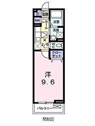 フルール宇賀徳[2階]の間取り
