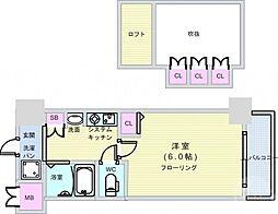 大国町駅 5.2万円