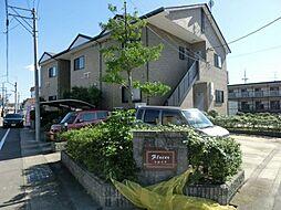 愛知県清須市西田中蓮池の賃貸アパートの外観