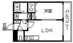 ランドベアー21II[203号室]の間取り