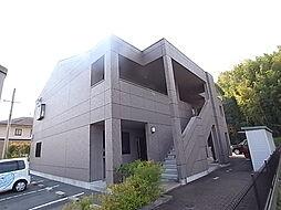兵庫県たつの市揖西町土師1丁目の賃貸アパートの外観