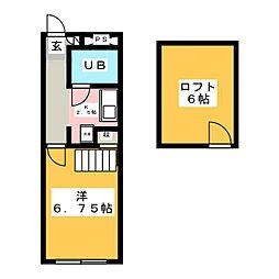 ドリームハウス駒形[2階]の間取り