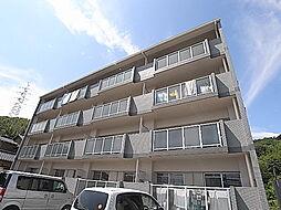 兵庫県姫路市白浜町の賃貸マンションの外観
