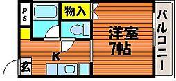 西川原駅 3.4万円