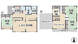 [一戸建] 兵庫県川西市美山台1丁目 の賃貸【/】の間取り