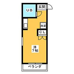 ソレイユ入江[3階]の間取り
