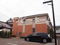 兵庫県姫路市網干区坂上の賃貸アパートの外観