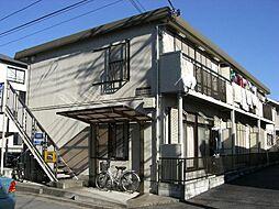 埼玉県戸田市笹目7丁目の賃貸アパートの外観