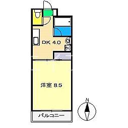 Aクイック[2階]の間取り