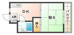 エクセルハイツ[3階]の間取り