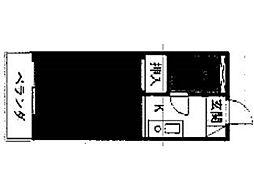 フローレンス秋川[3階]の間取り