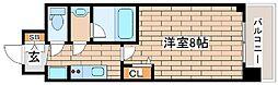 阪急神戸本線 王子公園駅 徒歩6分の賃貸マンション 3階1Kの間取り