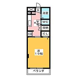 ラマージュ[2階]の間取り