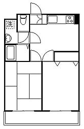 第3ゴージャスライフマンション[1階]の間取り