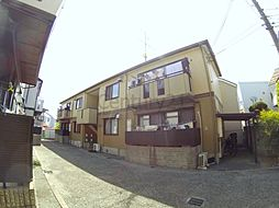 兵庫県西宮市下大市西町の賃貸アパートの外観
