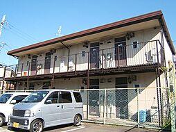 京都府宇治市伊勢田町南遊田の賃貸アパートの外観