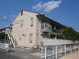 東京都日野市万願寺1丁目の賃貸アパートの外観