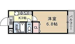 JTトキジン(ジェイティートキジン)[203号室号室]の間取り
