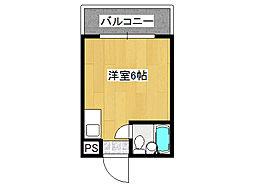 リリーフ明日香新今里[2階]の間取り