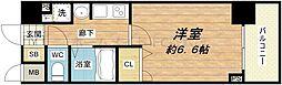 プレサンス本町プライム[10階]の間取り