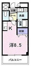 西田辺駅 4.8万円