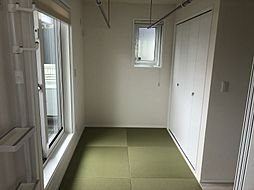 3.5帖の和室。