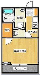宮原3丁目シャーメゾンA[202号室]の間取り