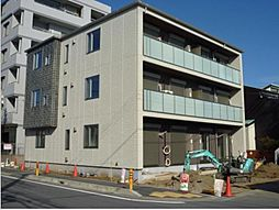 神奈川県茅ヶ崎市浜竹4丁目の賃貸マンションの外観