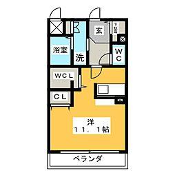 SUNRIVER YOKOSUKA[1階]の間取り