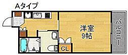 エル・セレーノ住之江[4階]の間取り