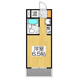 ライオンズマンション京都烏丸[207号室]の間取り
