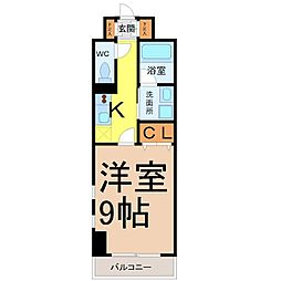 レジディア東桜[8階]の間取り