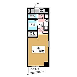 アーバネス金山[4階]の間取り
