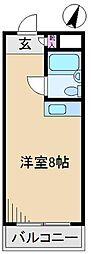 西ヶ原レジデンス[2階]の間取り
